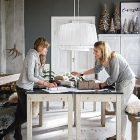 Swedish designer Ylva Skarp, a home at Christmas