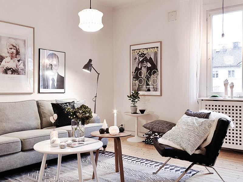 Cosy and warm scandi home hannah in the house for Gezellige woonkamer