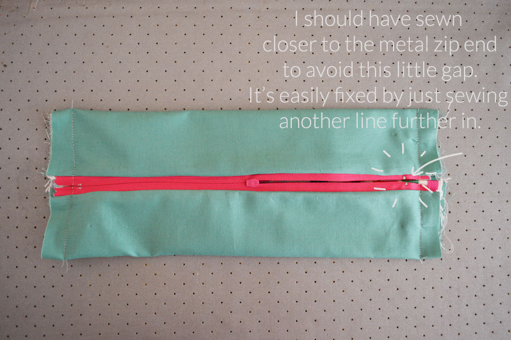 D.I.Y tutorial : Make your own cosmetic bag - Hannah In The House