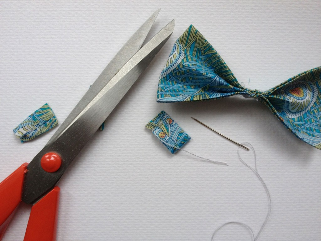 Liberty-making-bow-tie