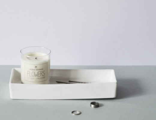 Minimal candle styling | Hannah in the house