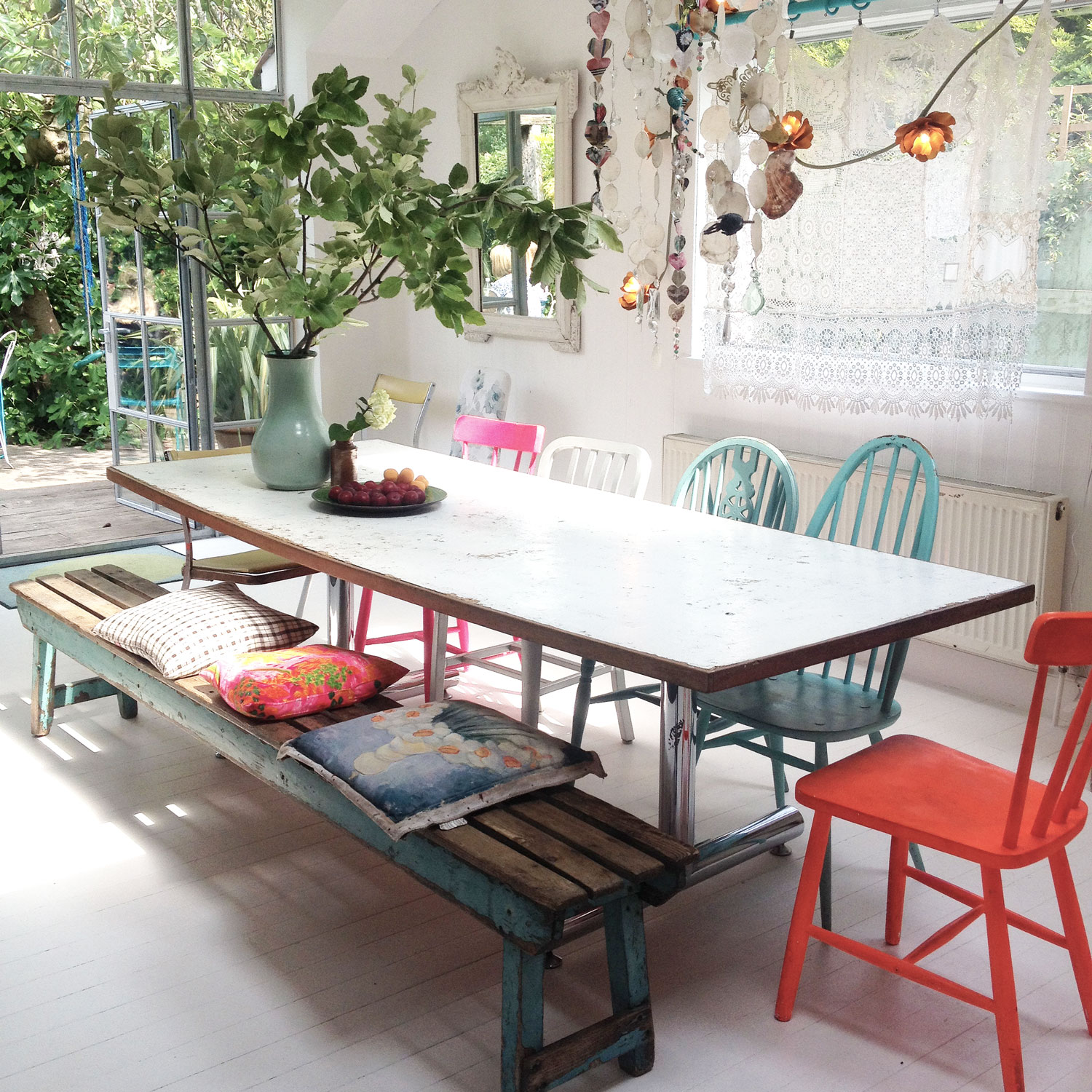 Boho kitchen | Hannah in the house