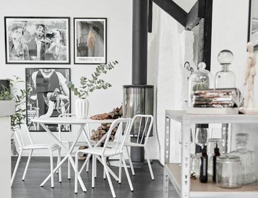 Swedish monochrome apartment