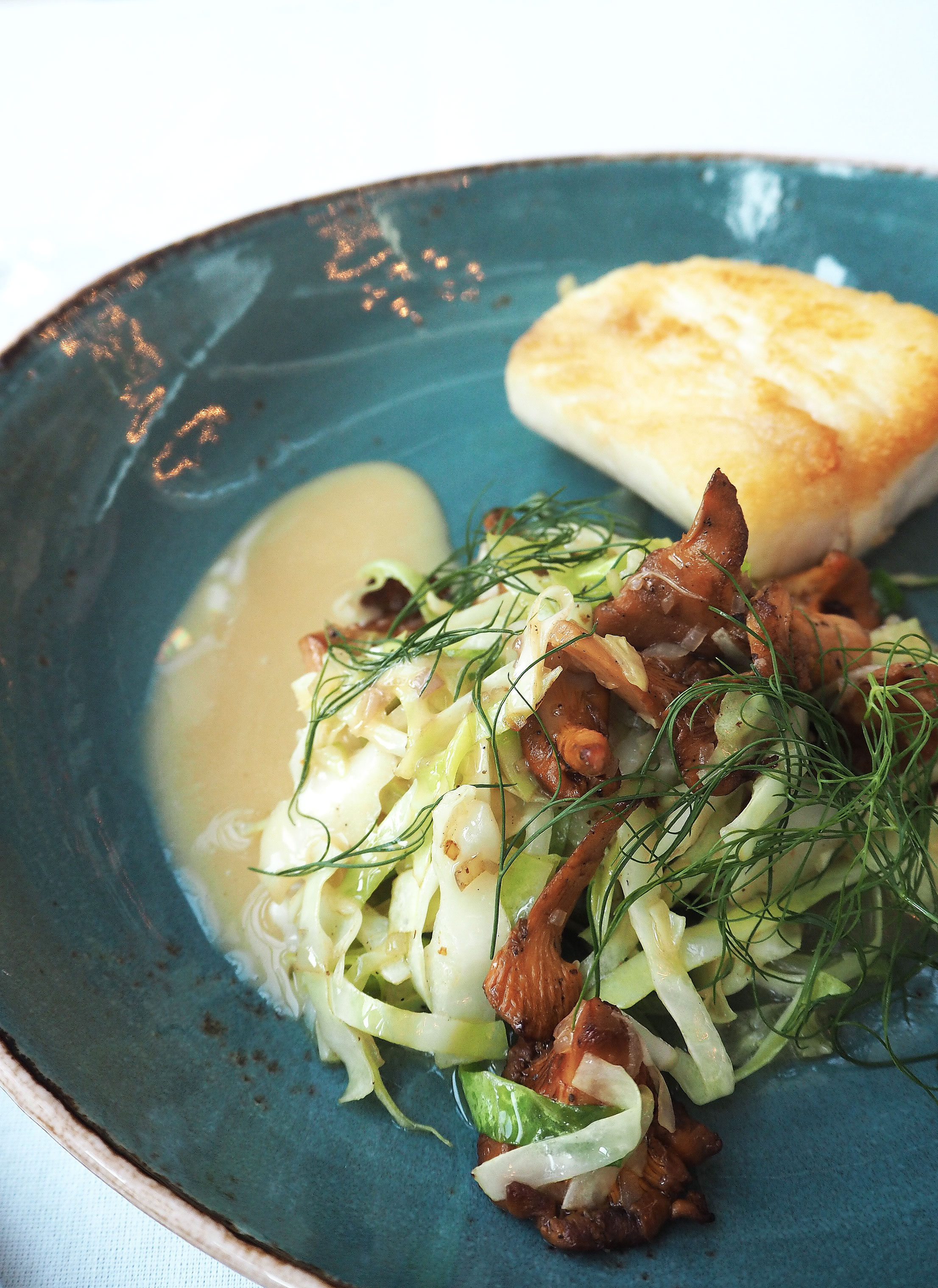 Central Kitchen Copenhagen - Cod - Chanterelle - Apple