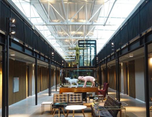 Design hotel - Hotel de Hallen Amsterdam