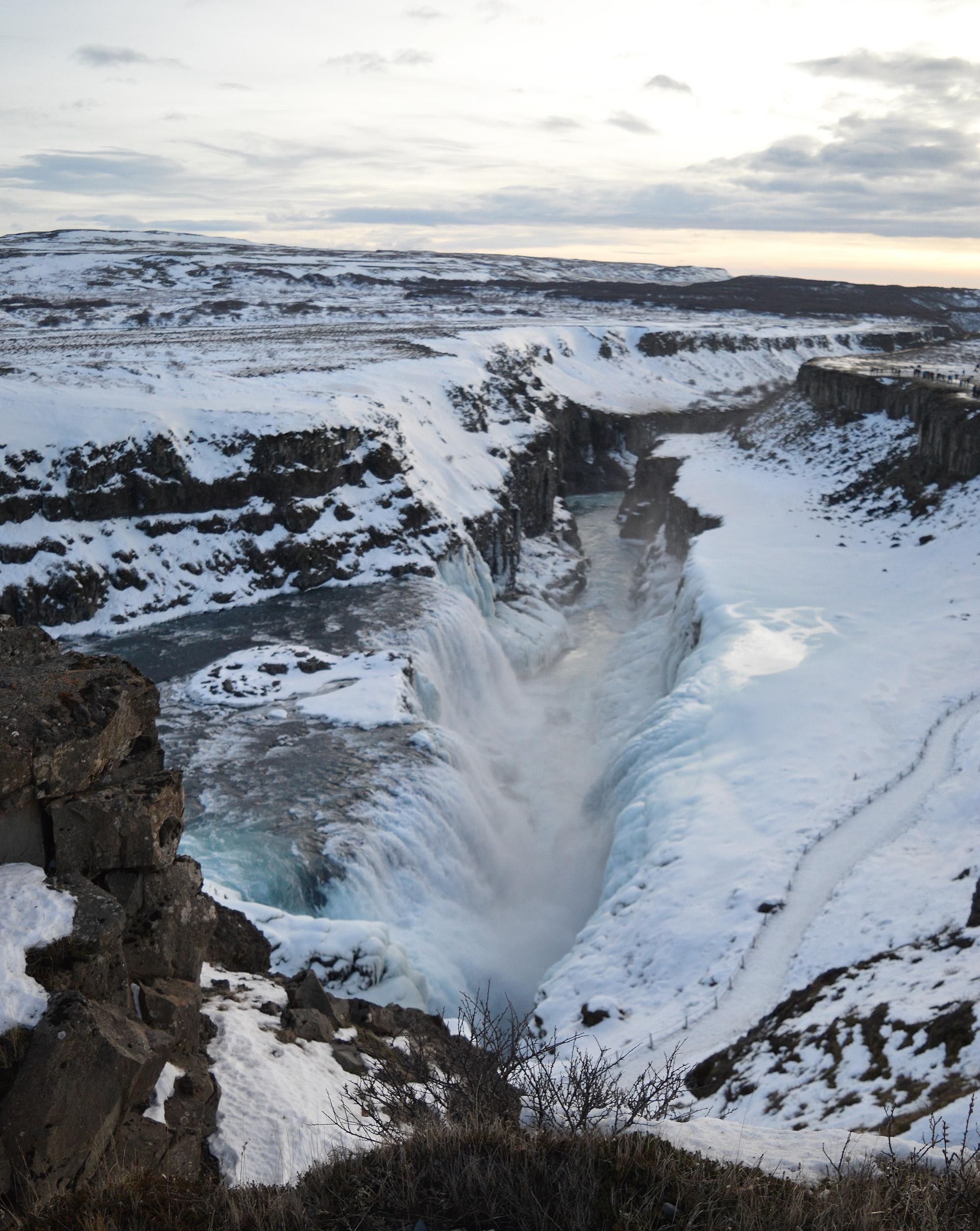 Exploring Iceland Gullfoss