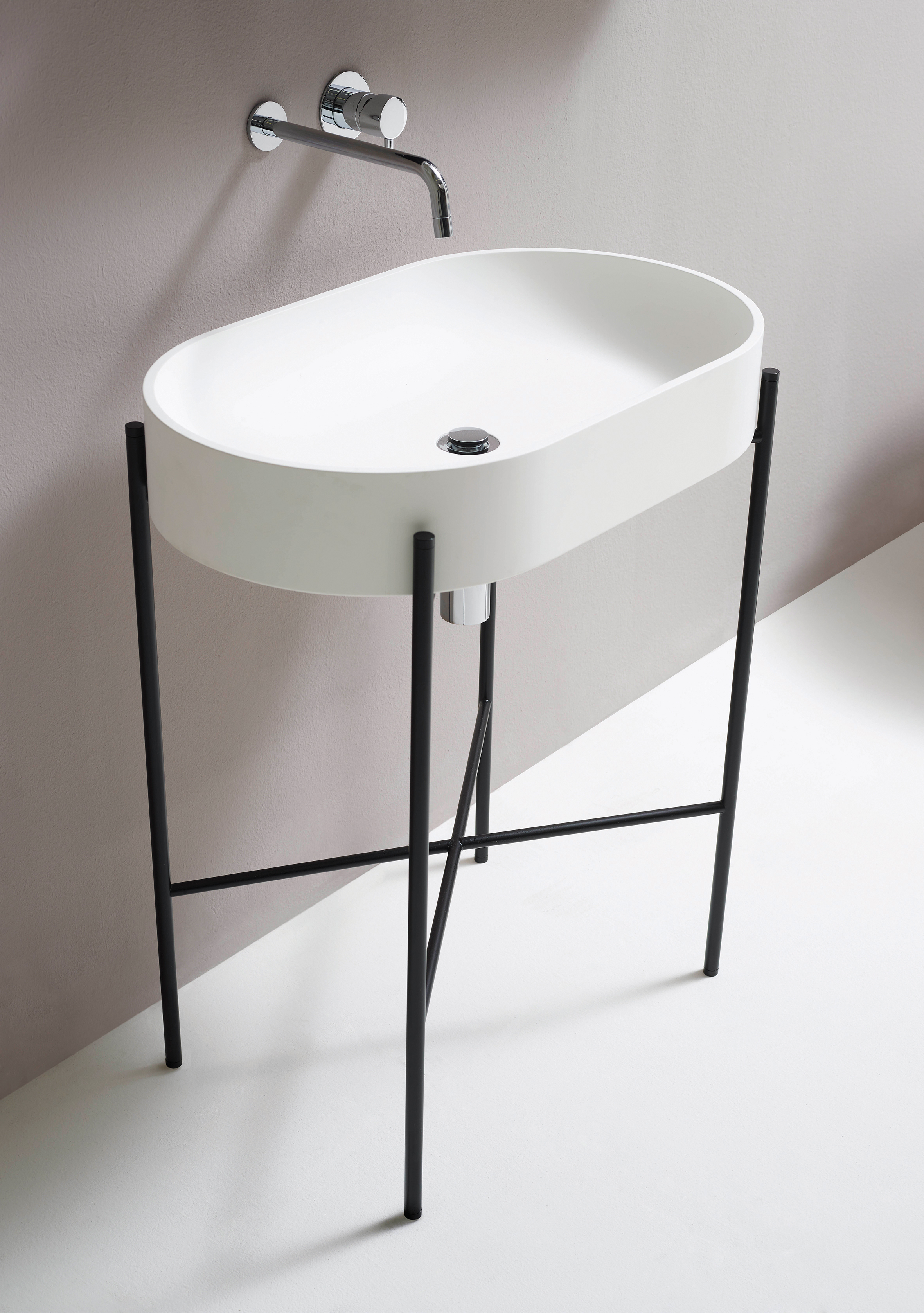 NORM-STAND bathroom basin