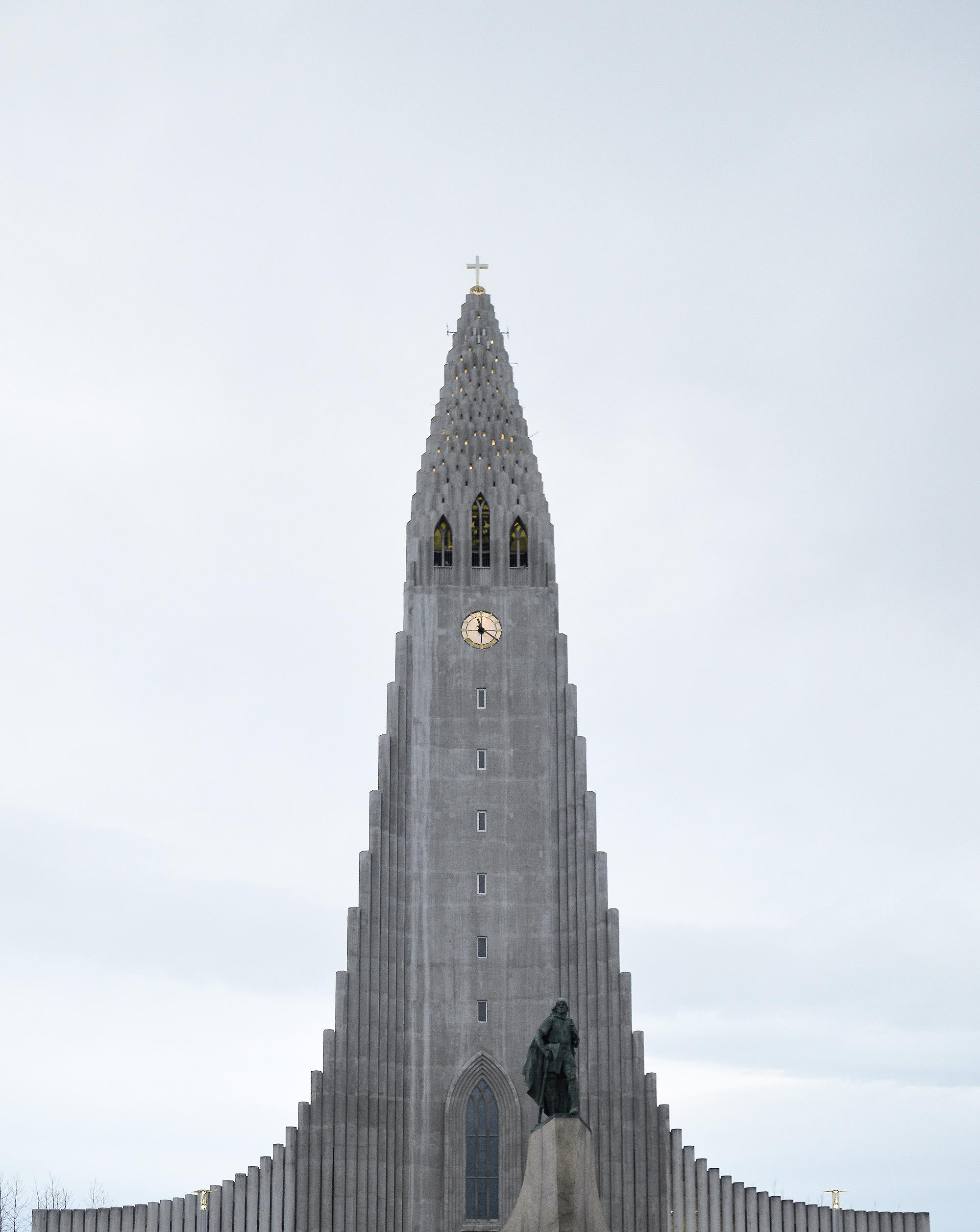 Iceland in six days - Hallgrímskirkja church Iceland