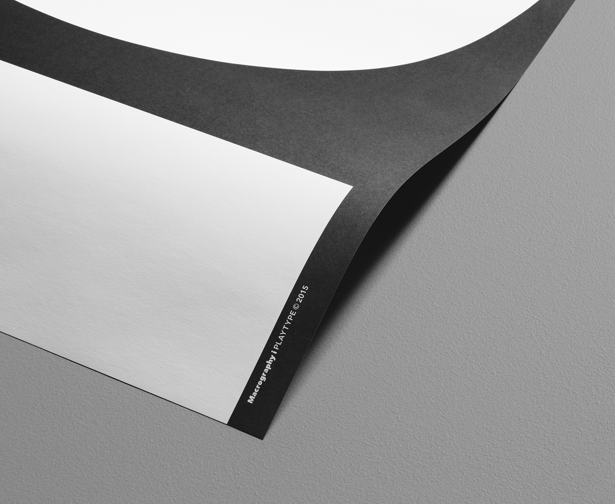 Playtype Poster Macrography