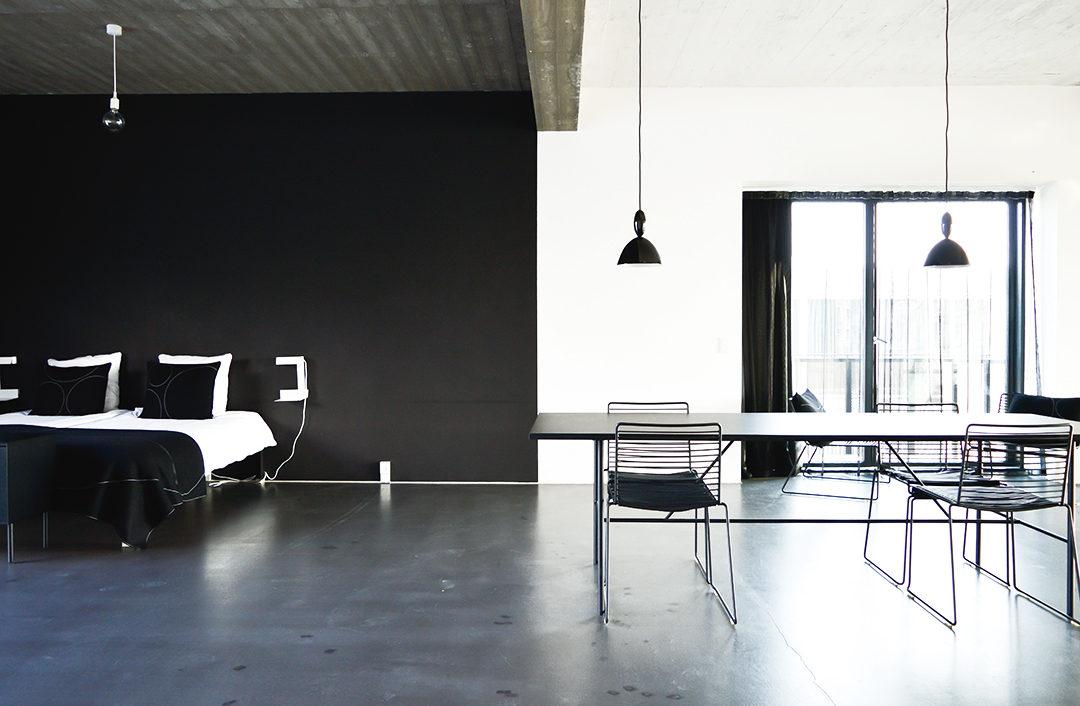 design hotel a minimalist apartment at stay copenhagen - Minimalist Hotel Design