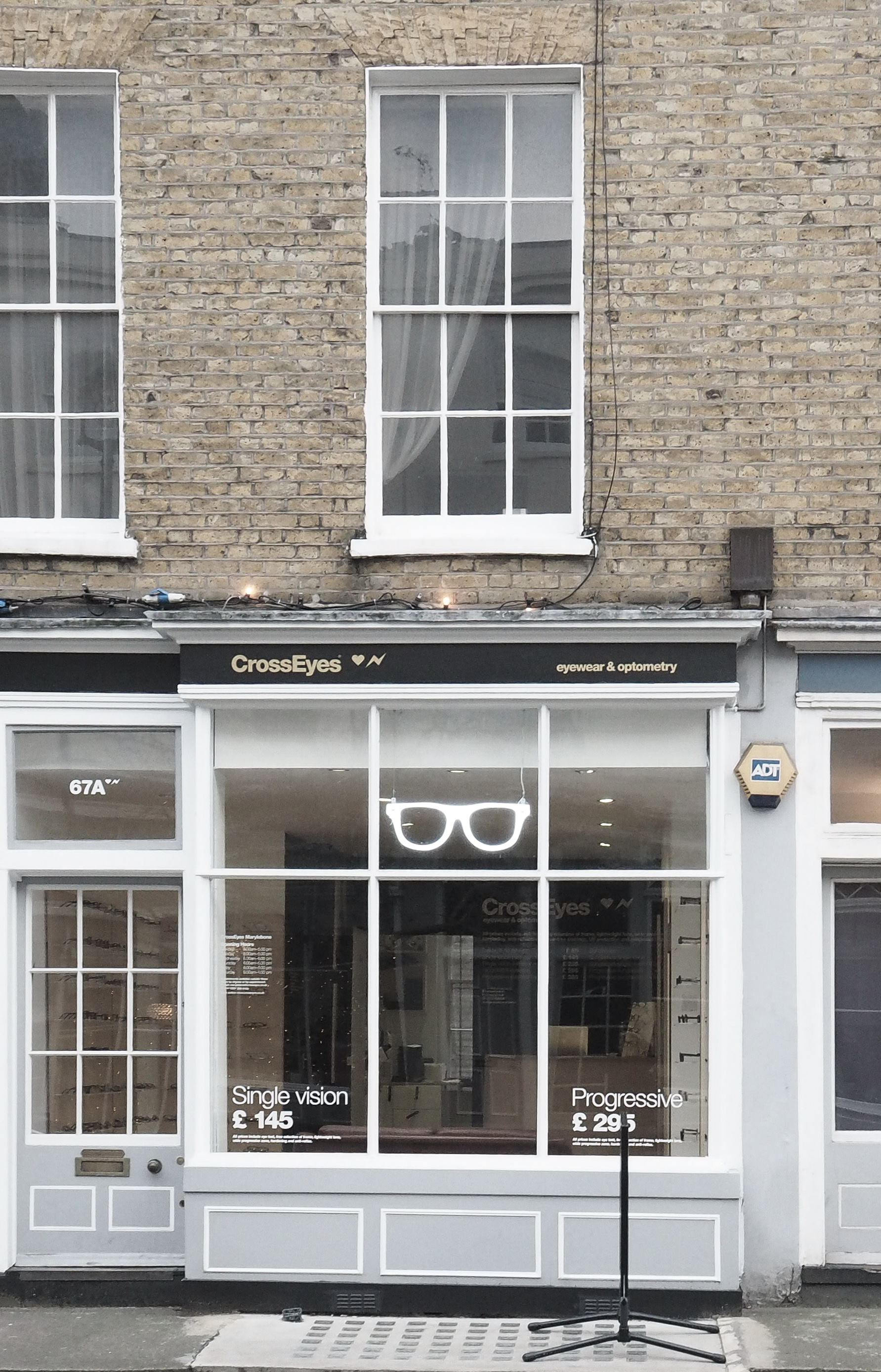 CrossEyes Marylebone, Danish Eyewear