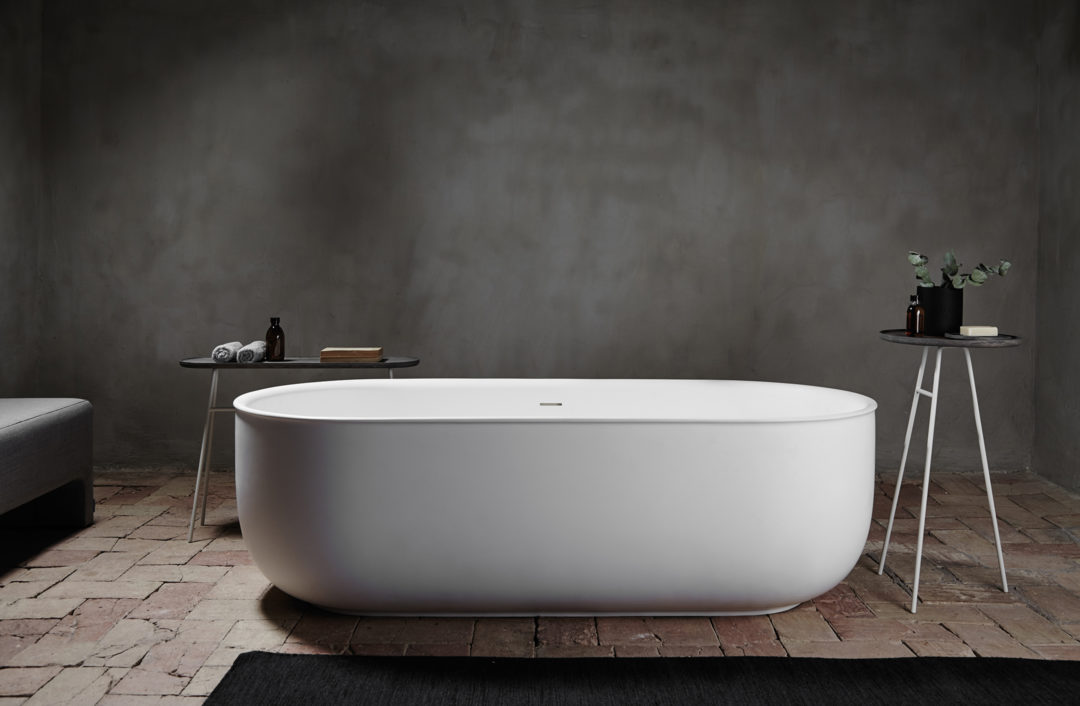 A minimalist bathroom range- designed by Norm Architects