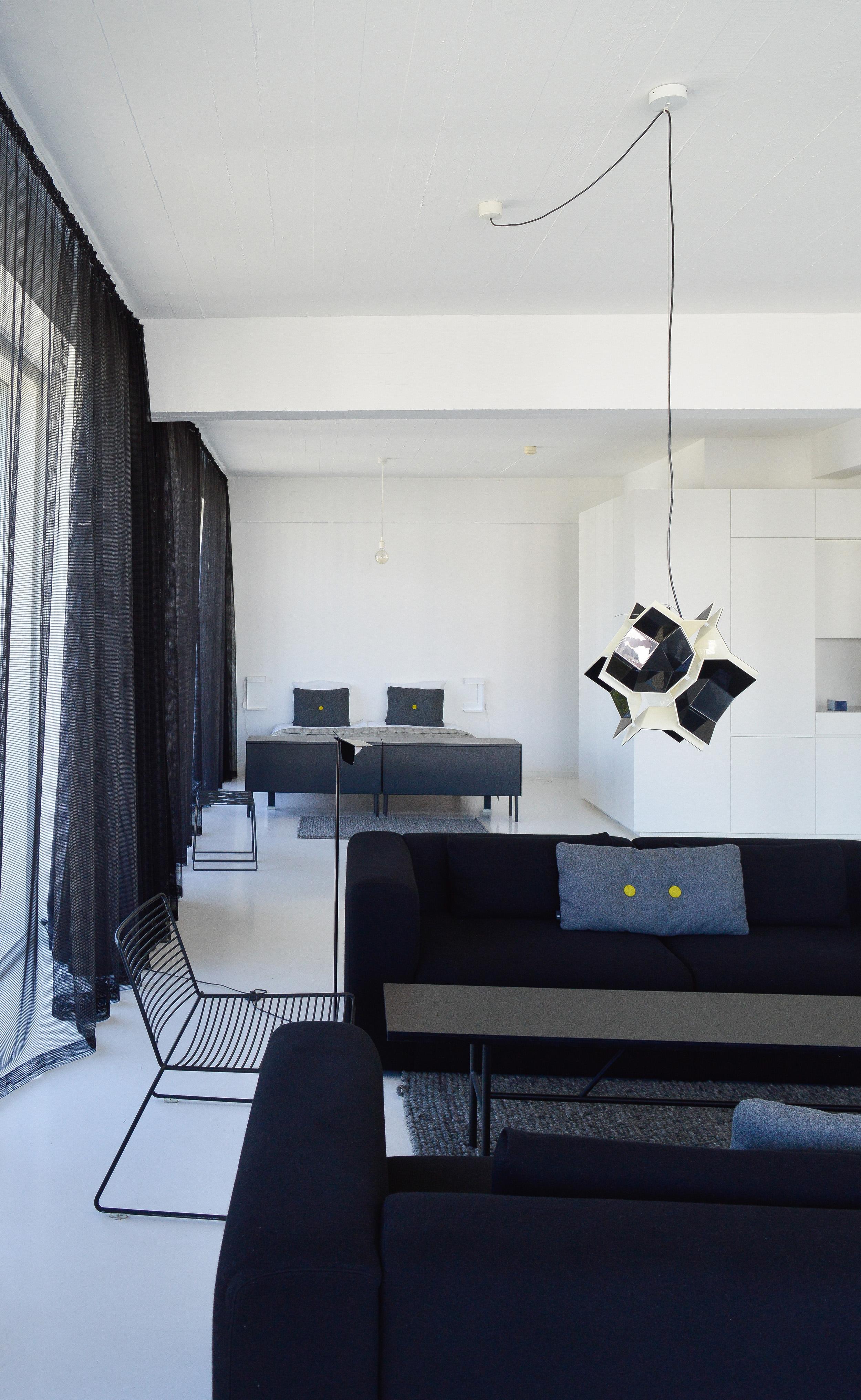 A Scandinavian minimalist apartment