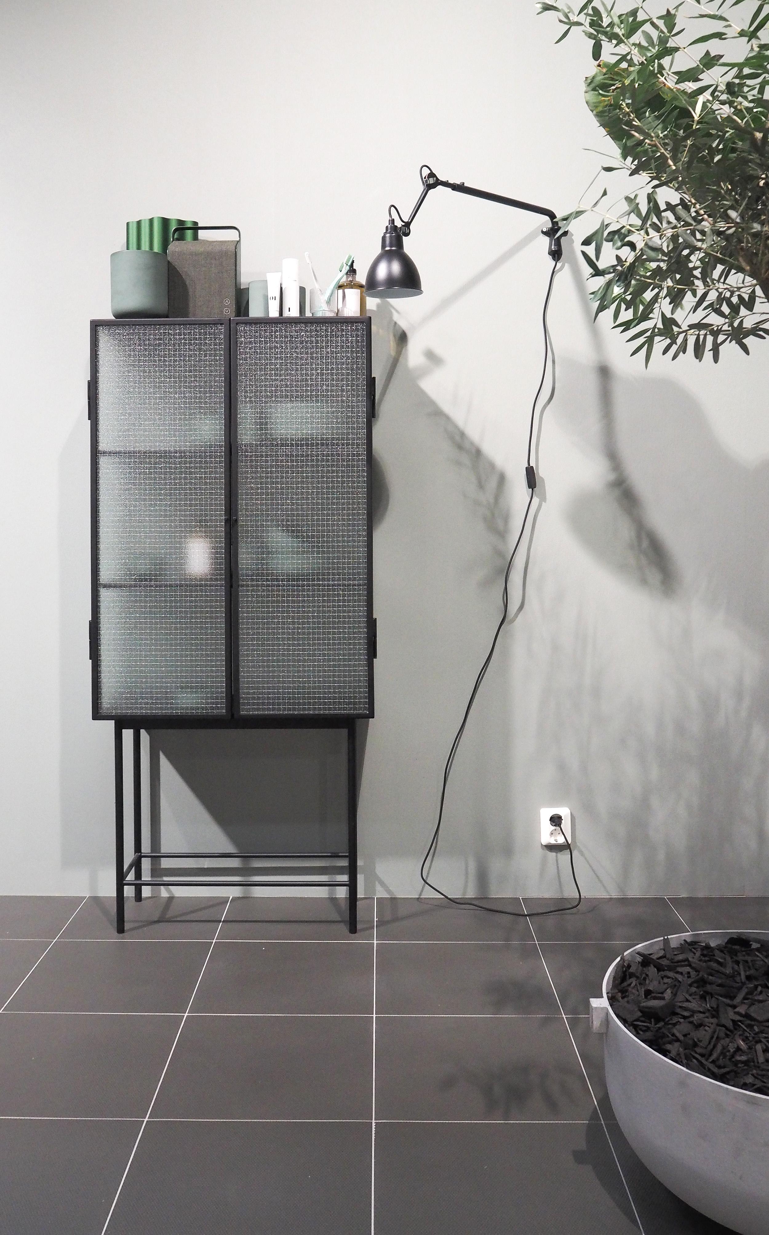 Industrial bathroom styling