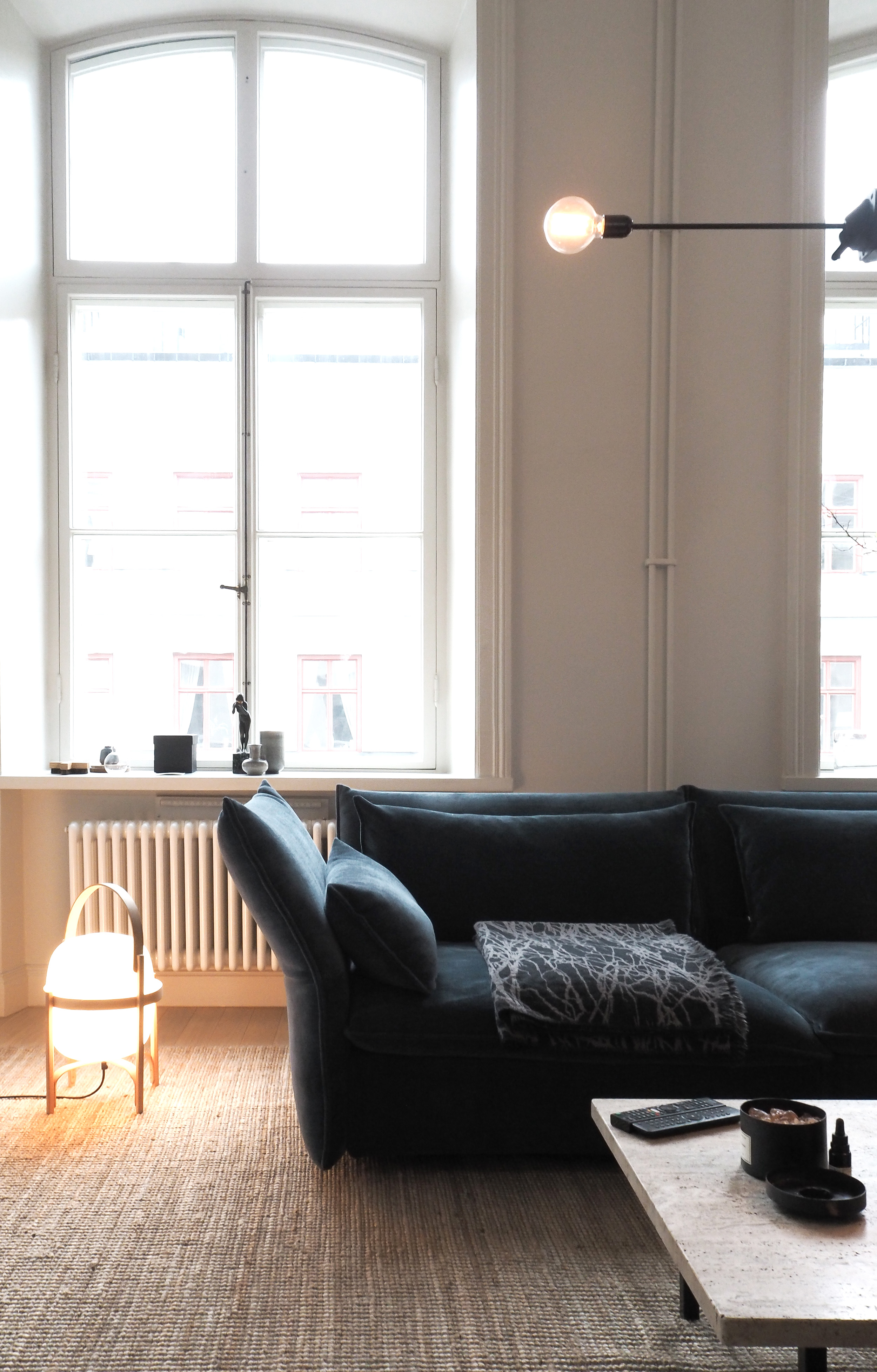 Swedish apartment of architect Andreas Martin-Löf
