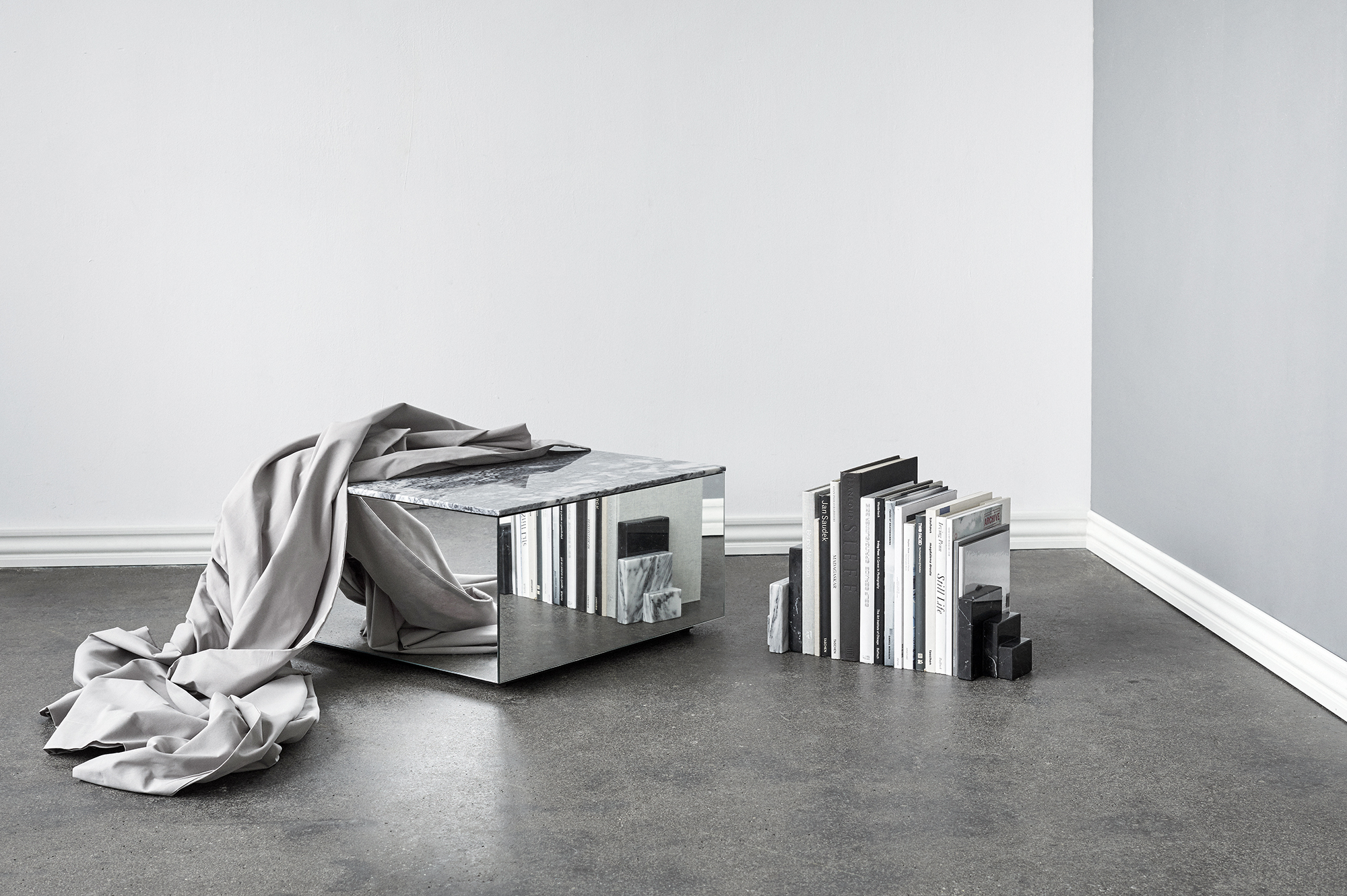 Sculptural minimalism by Kristina Dam, Copenahagen