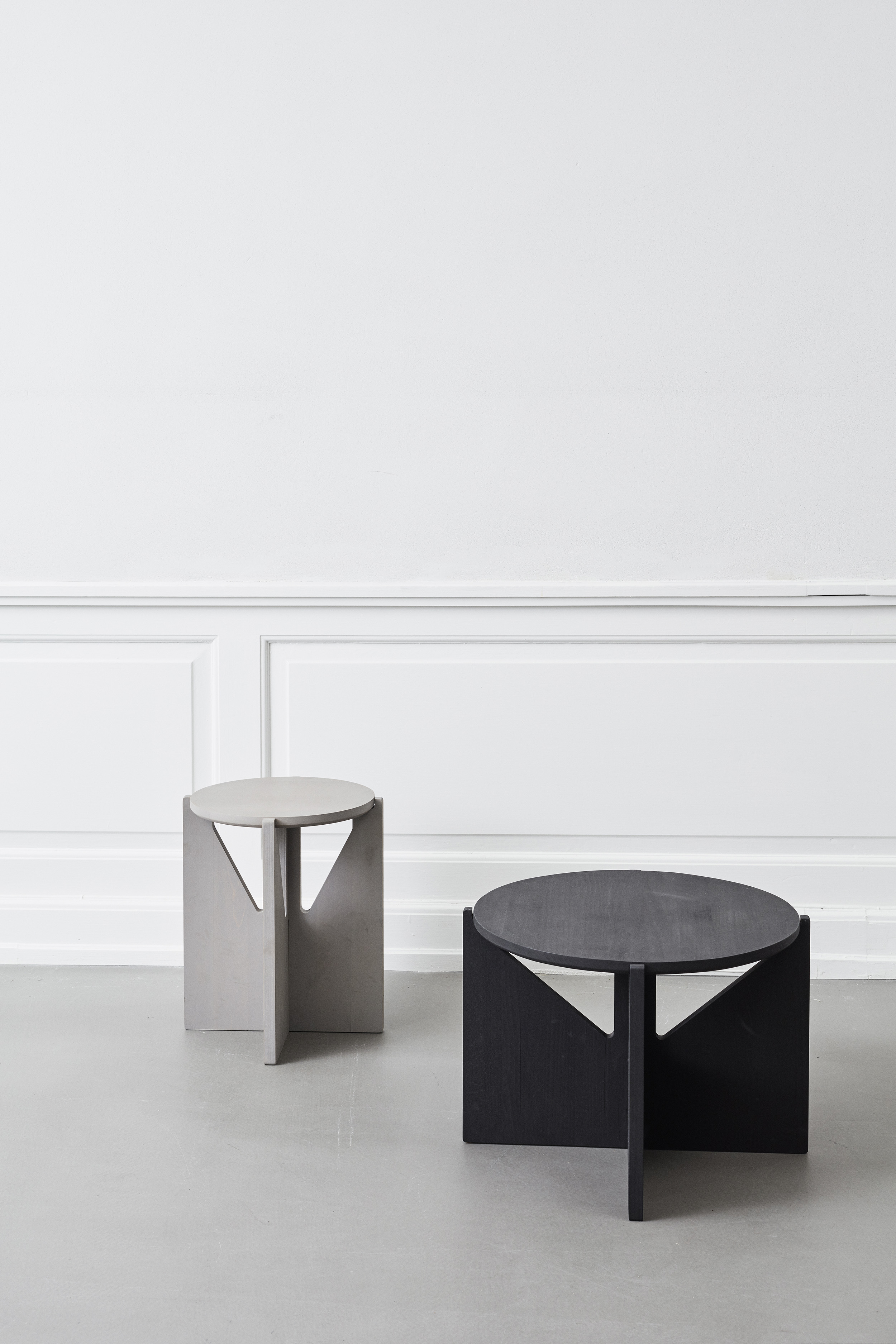 Minimalist Table Sculptural Minimalism From Kristina Dam Hannah In The House