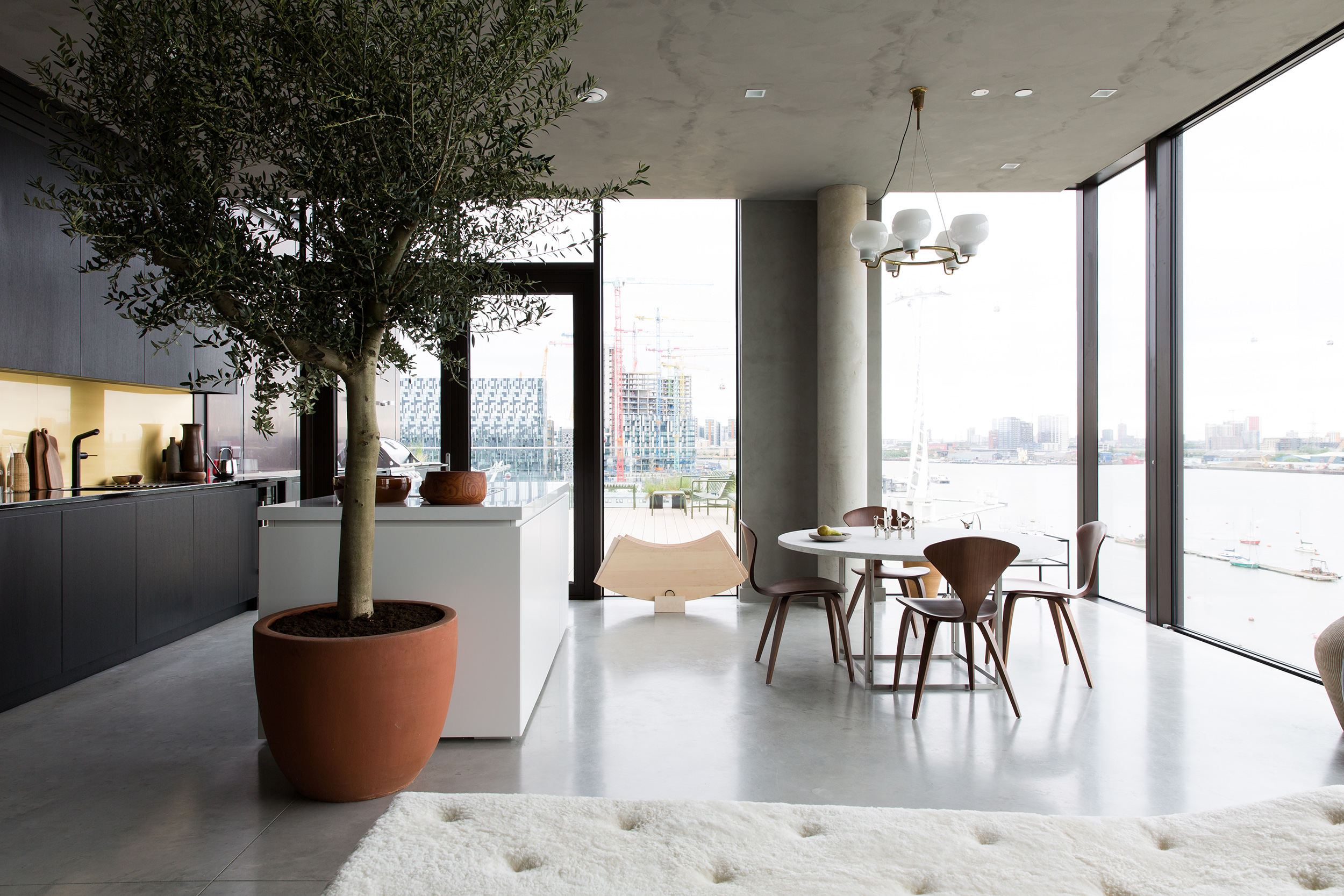 Contemporary living at the Cereal ABODE at the Greenwich Peninsula