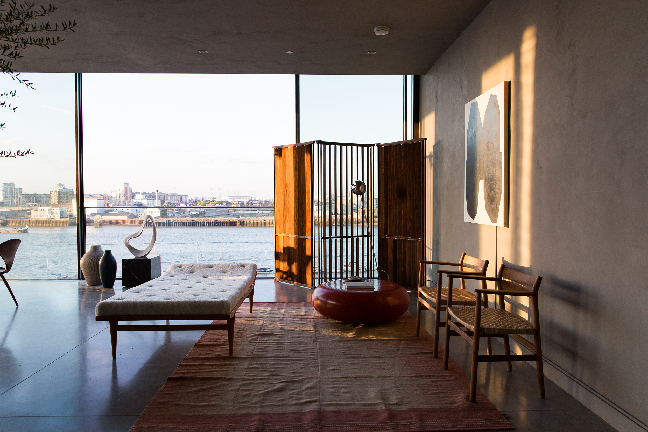 mid century minimalist apartment, The Cereal ABODE at the Greenwich Peninsula