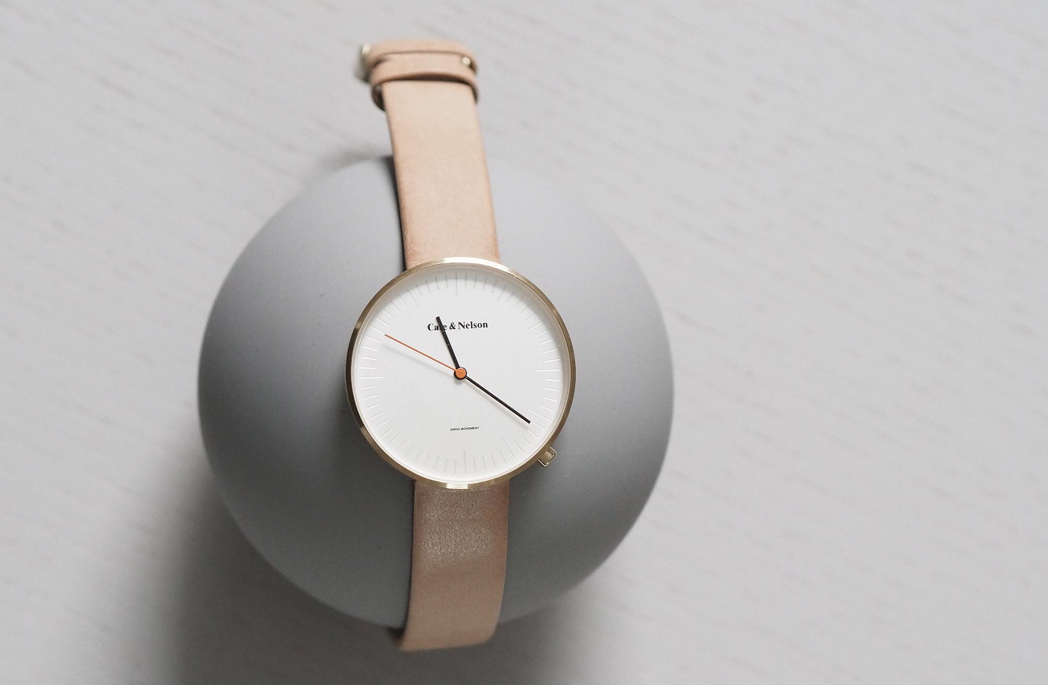 Design Studio Cate amp Nelson Launch Scandinavian Timepieces