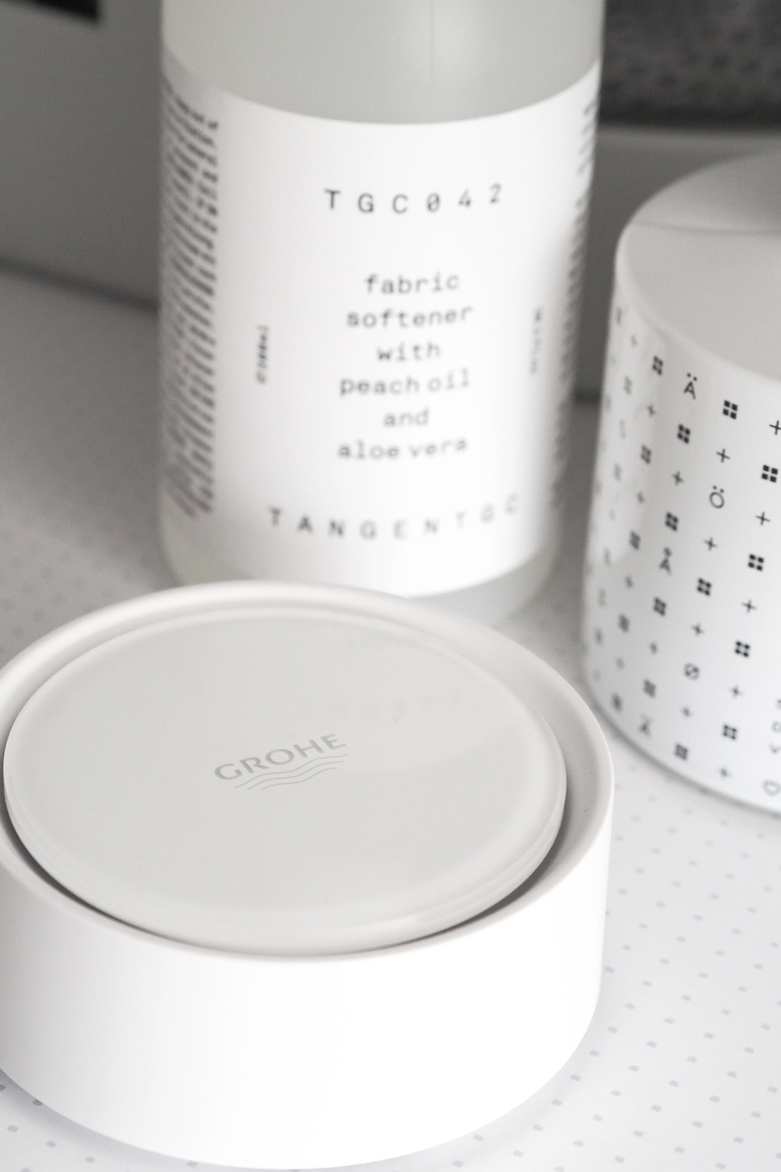 At home, Grohe Sense water sensor