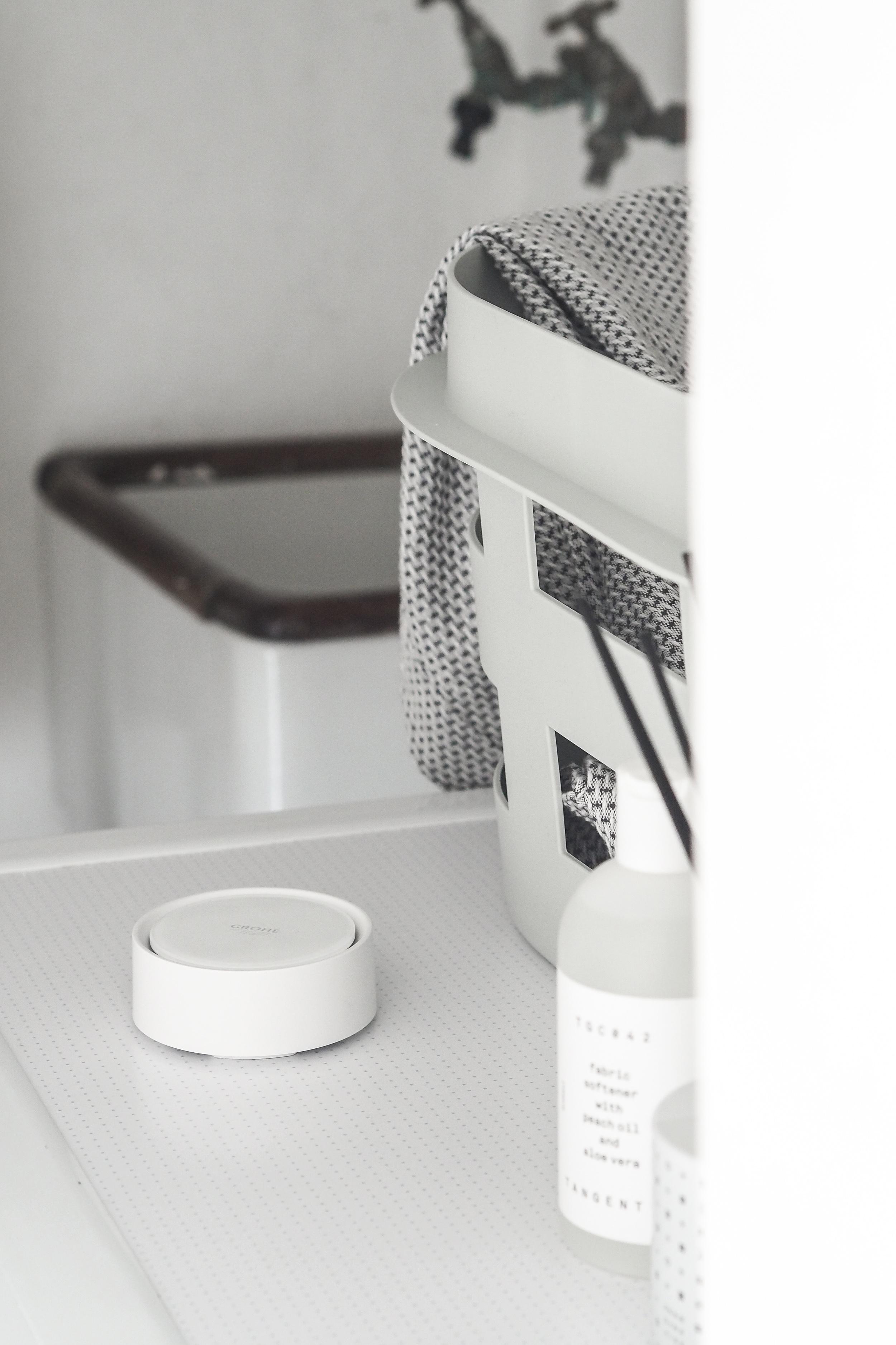 In my house, Grohe Sense water sensor