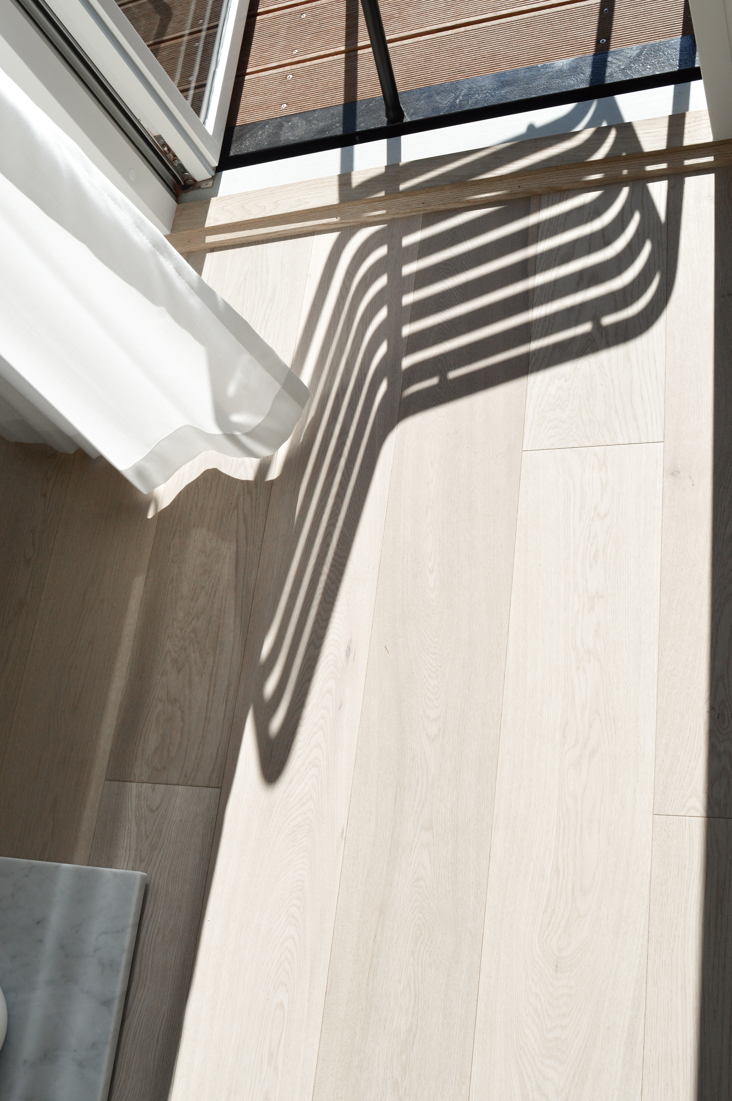 Shadow play with Hay Palissade collection at Stay Seaport Copenhagen