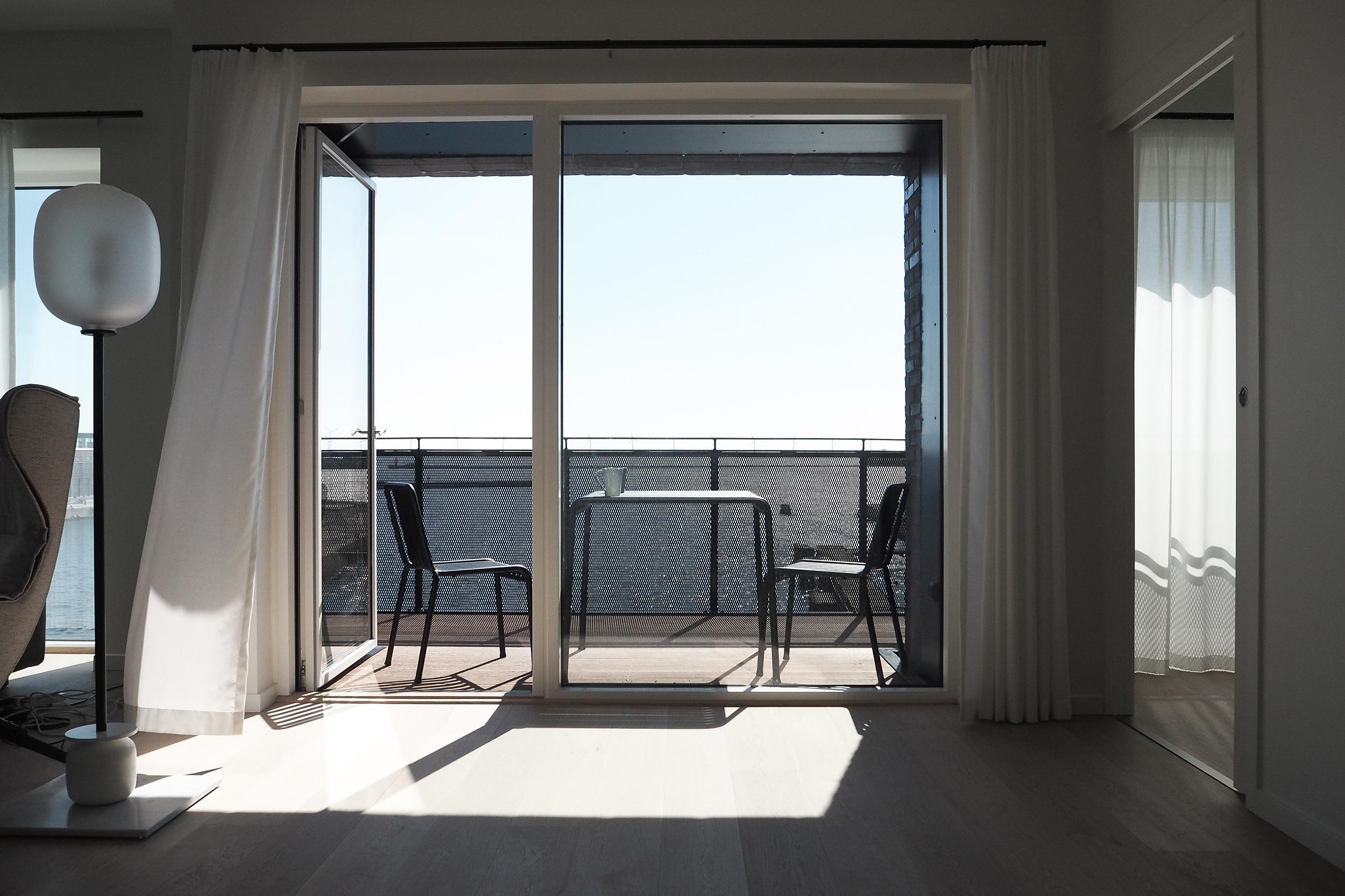 Sea View at Stay Seaport Copenhagen, design hotel, design apartment.