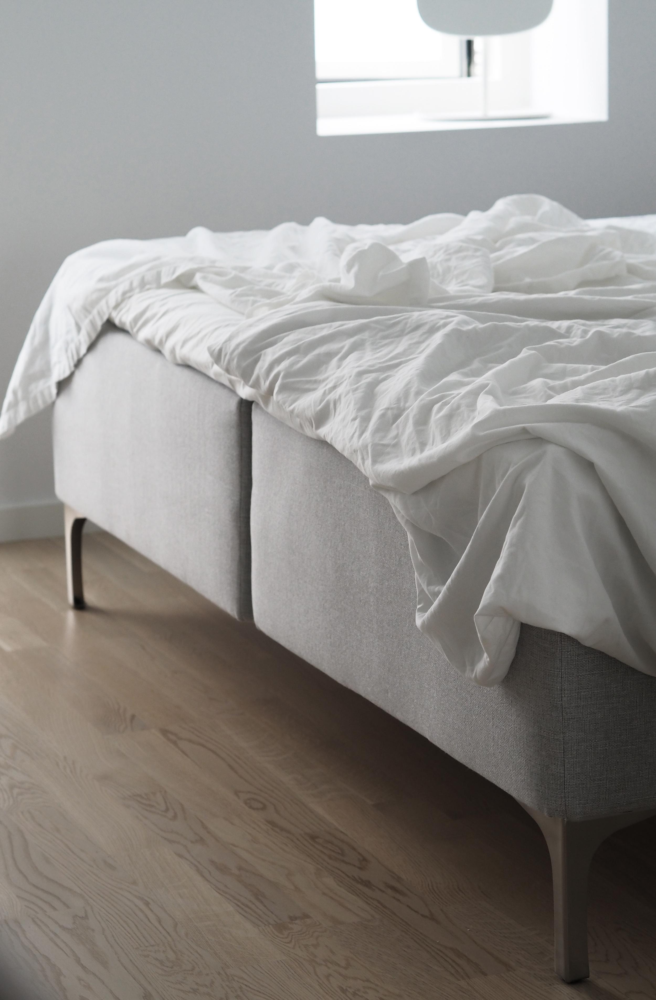 Scandinavian simplicity, a natural bed for my new Copenhagen home