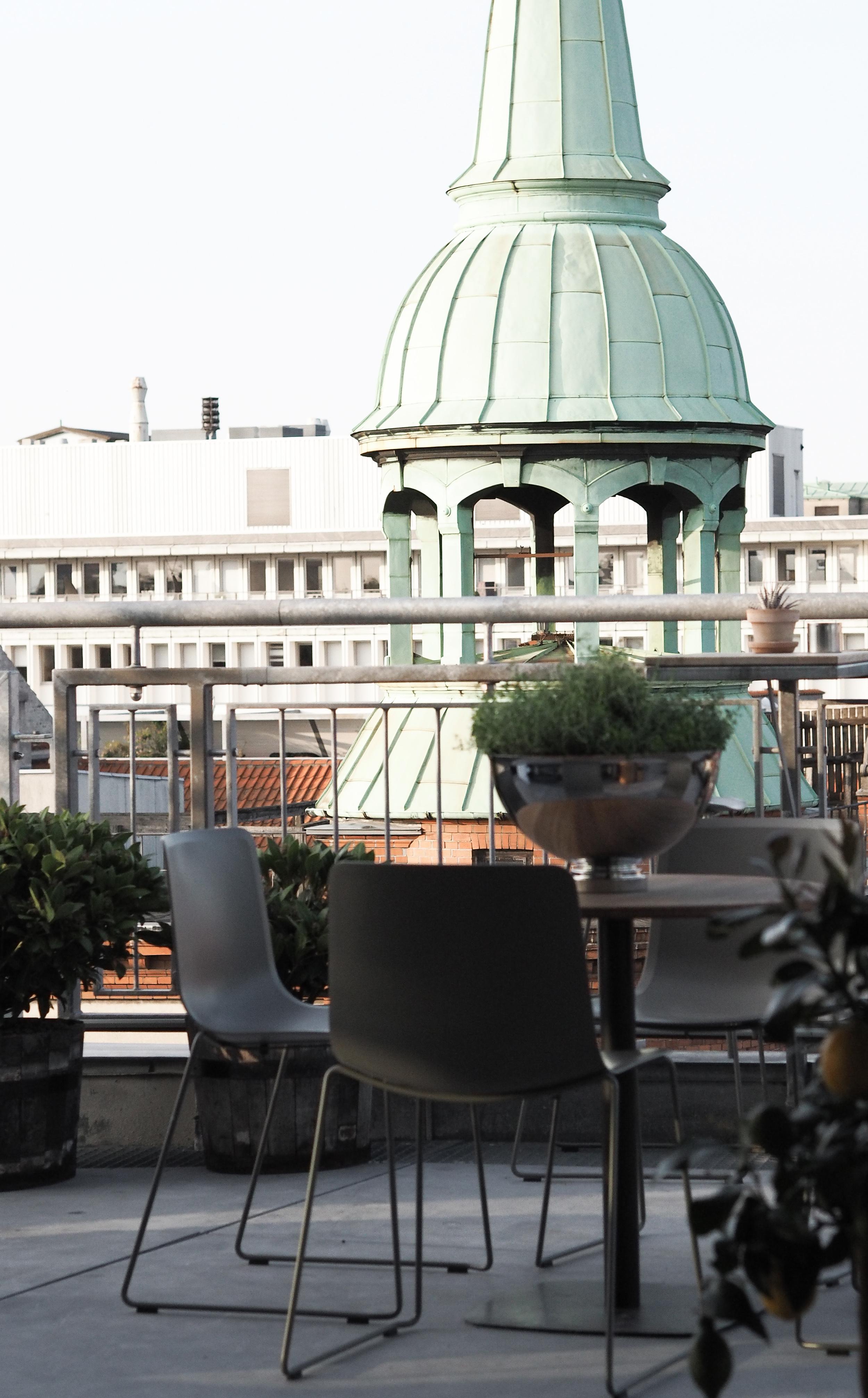 Fredericia rooftop. Copenhagen rooftops