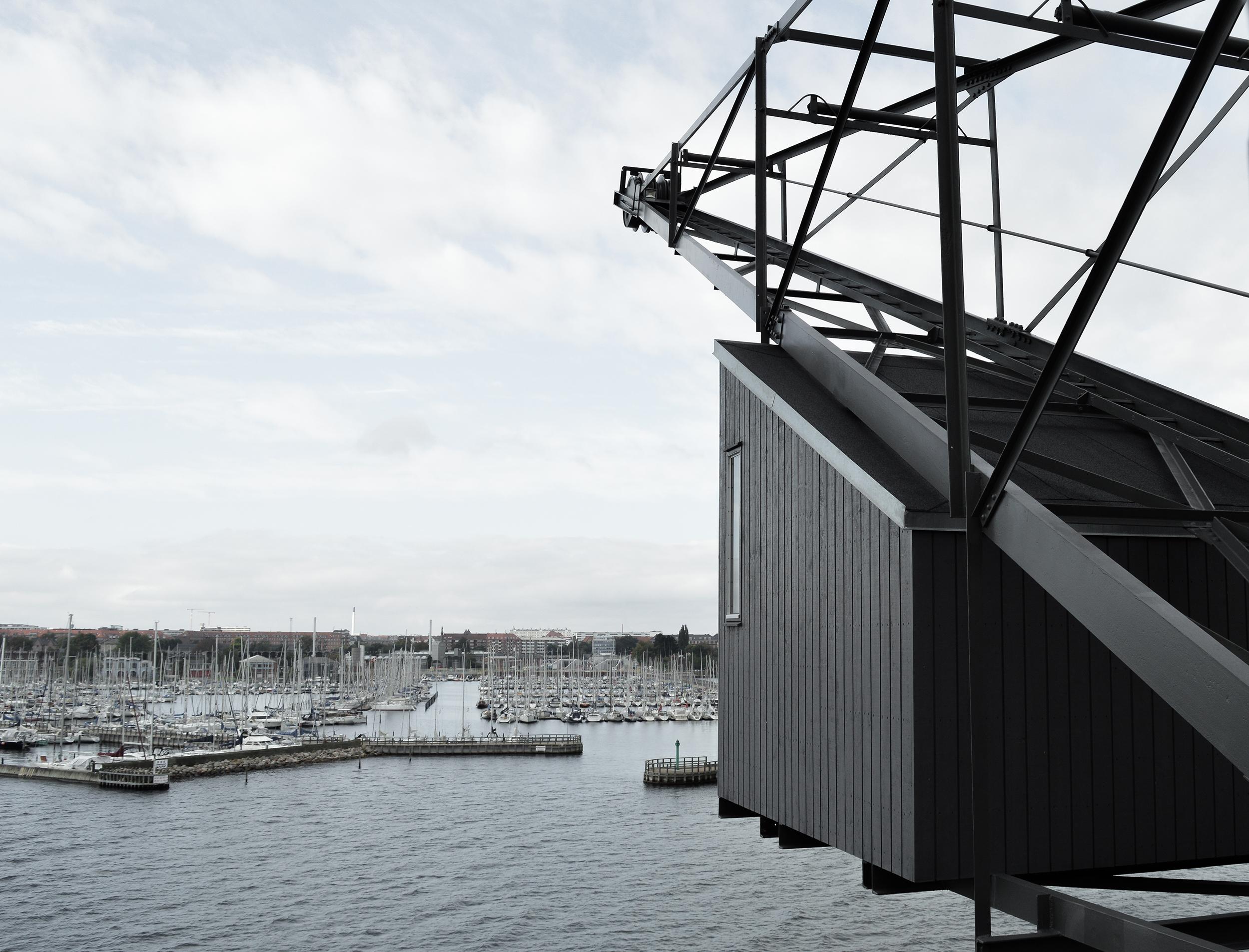 The Krane. A unique industrial hotel in Copenhagen.