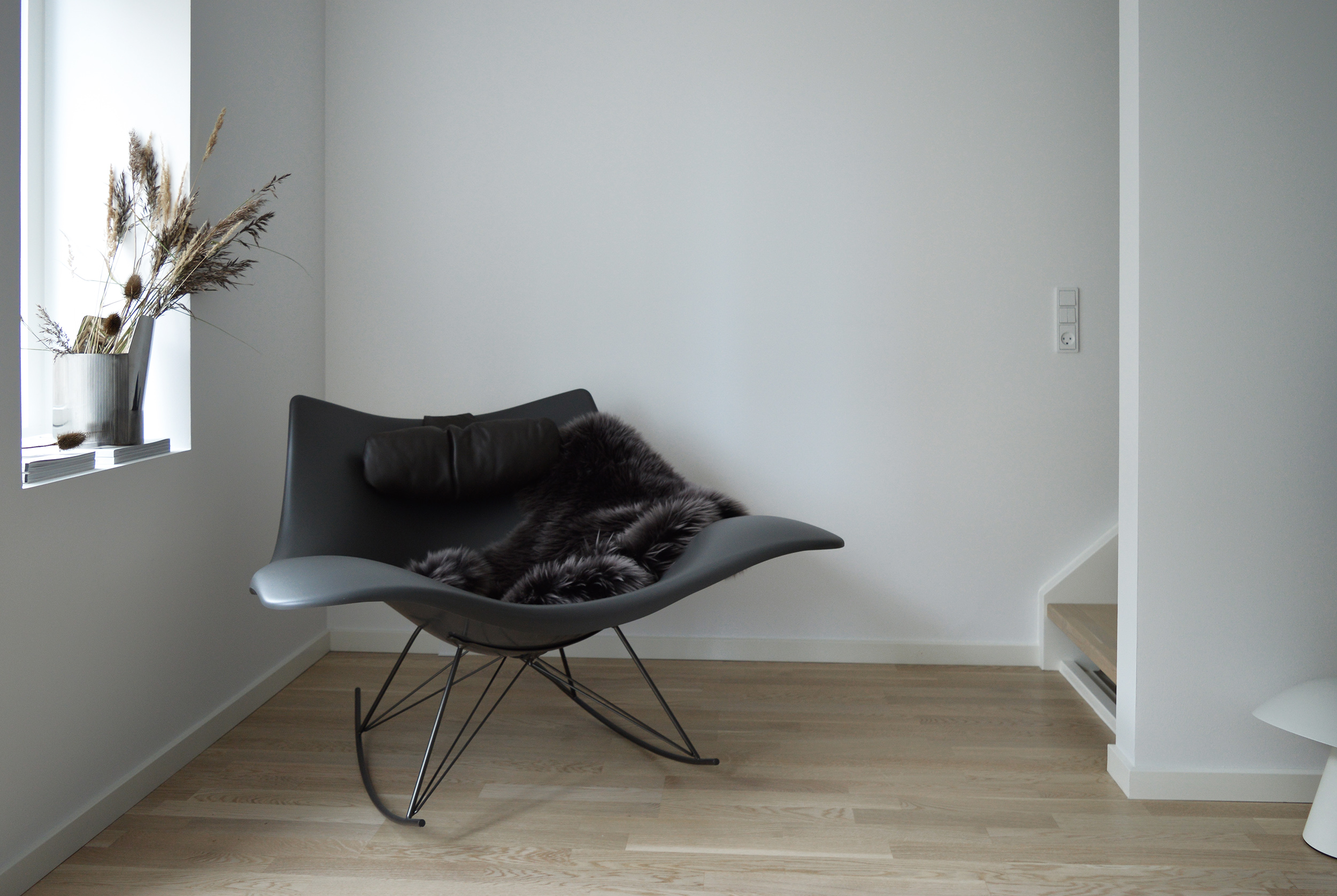 The Stingray rocker chair - Designed by Thomas Pedersen for Fredericia