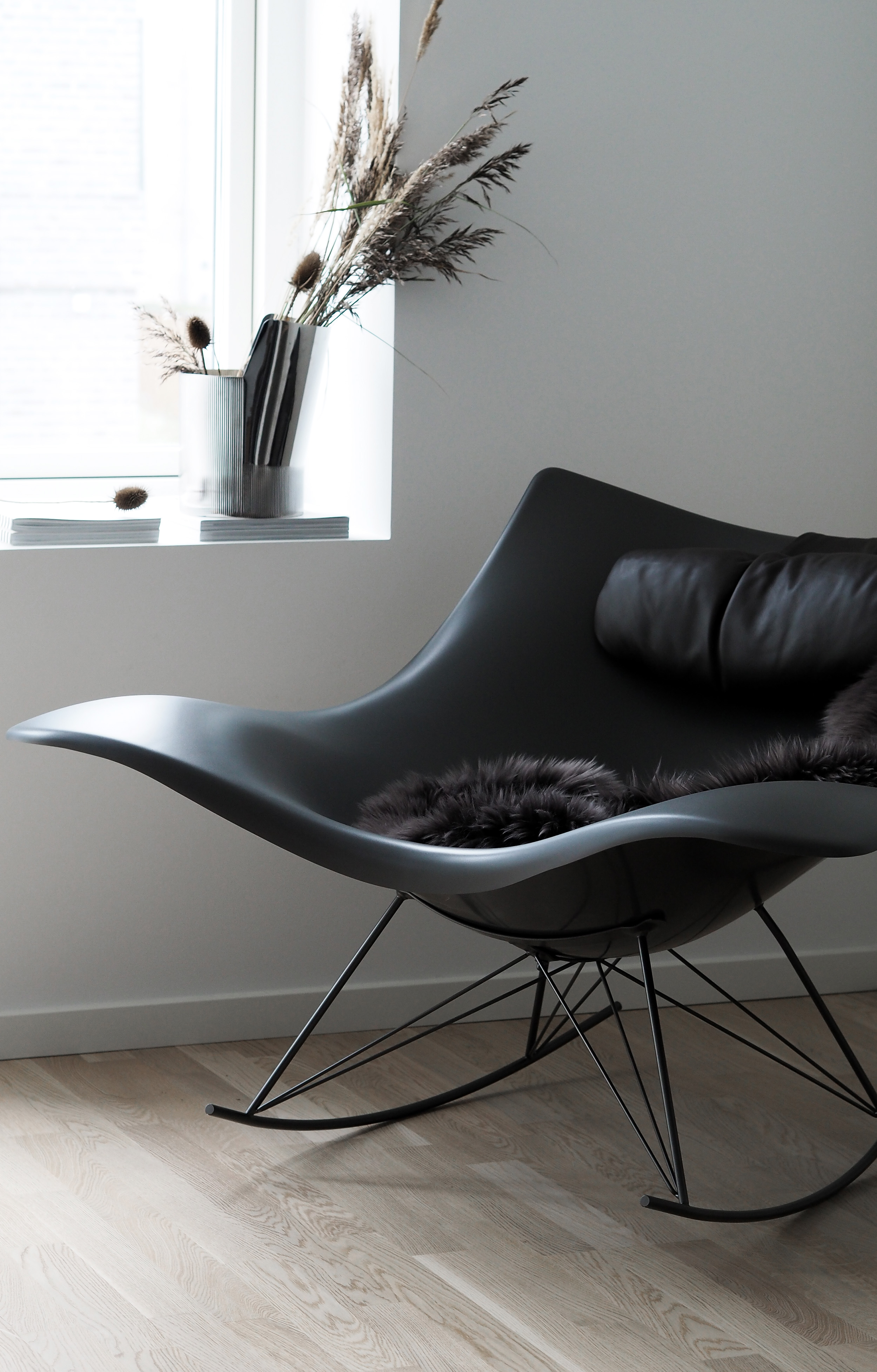 The Stingray Rocker Chair Designed By Thomas Pedersen