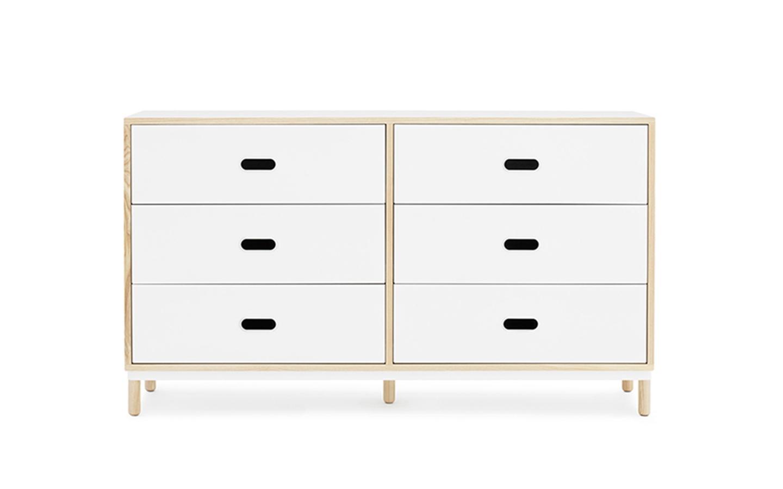 Essential storage - Kabino drawers by Normann Copenhagen