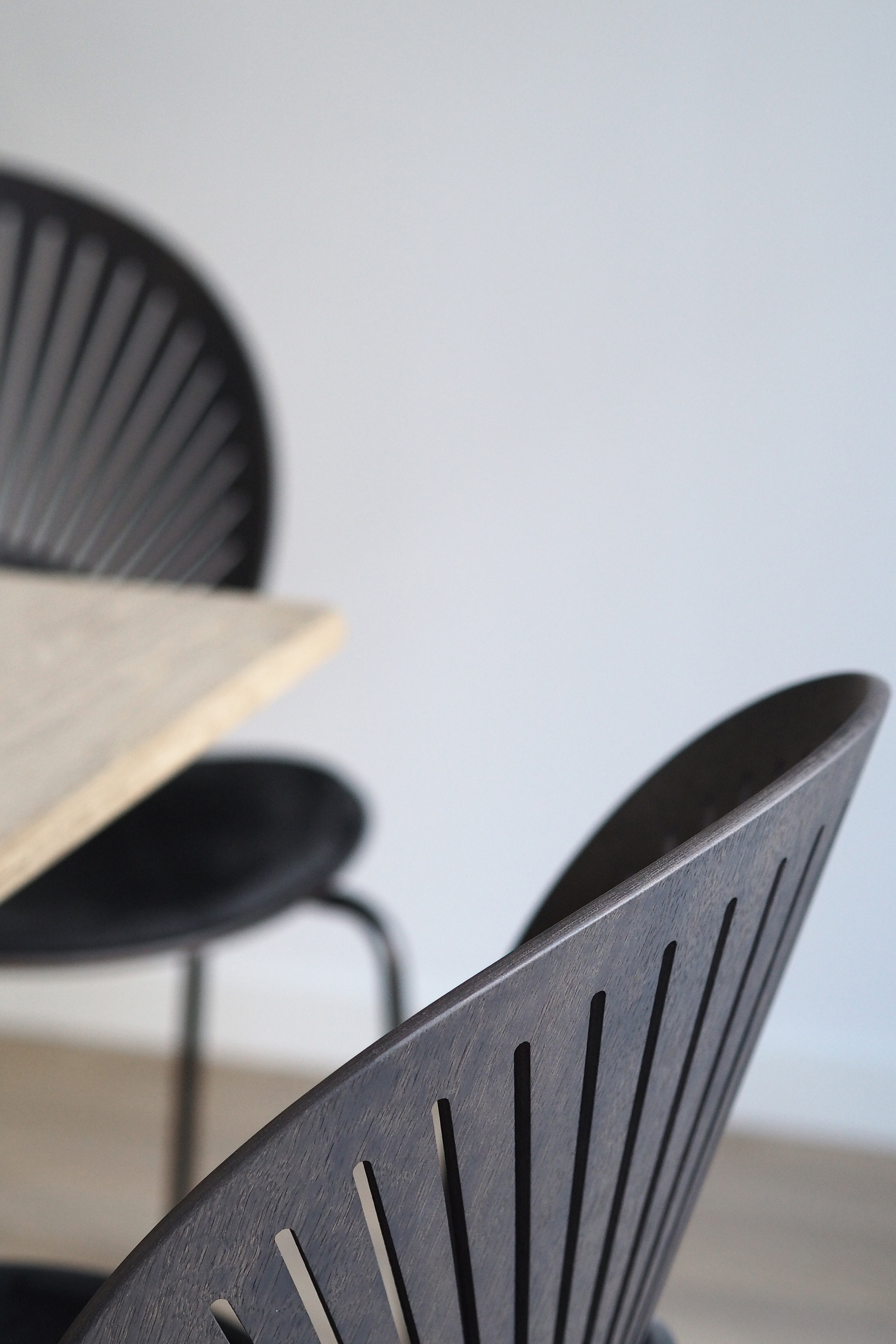 Trinidad chair , Scandinavian minimalist dining room